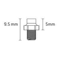 Xpedo Stright Pins Zestaw pinów do pedałów platformowych