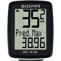 Sigma Sport BC 9.16 Licznik rowerowy 10 funkcji