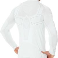 Brubeck Cooler Bluza unisex termoaktywna jasno szara