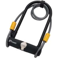 Onguard 5801 Zapięcie U-lock 11mm x 115mm x 230mm + linka