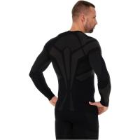 Brubeck Dry bluza męska z długim rękawem czarna