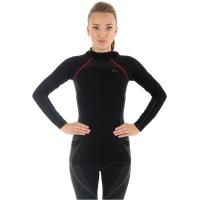 Brubeck Bluza damska z kapturem fitness czarna