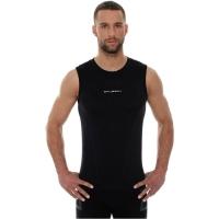 Brubeck Athletic Koszulka męska bez rękawów czarna