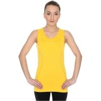 Brubeck Athletic koszulka damska bez rękawów żółta