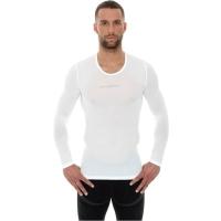 Brubeck Koszulka męska 3D Run PRO z długim rękawem biała