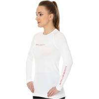 Brubeck Koszulka damska 3D Run PRO z długim rękawem biała