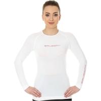 Brubeck 3D Run PRO Koszulka damska z długim rękawem biała