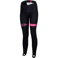 Rogelli Manica Rajtuzy rowerowe damskie z szelkami czarno różowe