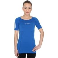 Brubeck Athletic koszulka damska z krótkim rękawem ciemnoniebieska