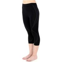 Brubeck Thermo Spodnie 3/4 damskie czarne