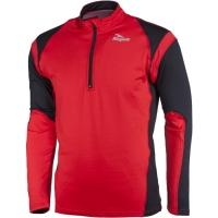 Rogelli Dillon Koszulka do biegania czarno czerwona