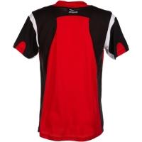 Rogelli Dutton Koszulka rowerowa czerwono czarna