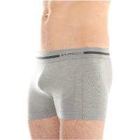 Brubeck Comfort Wool Bokserki męskie jasnoszare