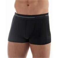 Brubeck bokserki męskie comfort wool czarne
