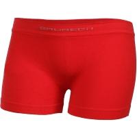 Brubeck Comfort Cotton Junior Bokserki chłopięce czerwone
