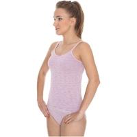 Brubeck Camisole Fusion Koszulka damska na ramiączkach różowa