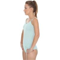 Brubeck Camisole Fusion Koszulka damska na ramiączkach jasnozielony