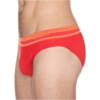 Brubeck Active Wool Slipy męskie czerwone