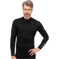 Brubeck Extreme Wool Merino Bluza męska długi rękaw czarna