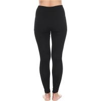 Brubeck Extreme Wool Spodnie damskie długa nogawka czarne