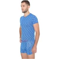Brubeck Fusion komplet koszulka męska+ bokserki niebieskie