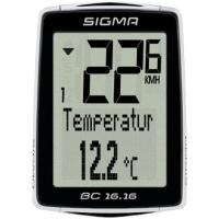 Sigma Sport BC 16.16 Licznik rowerowy przewodowy 16 funkcji