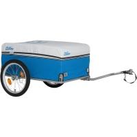 XLC BS L01 Carry van przyczepka rowerowa transportowa srebrno niebieska