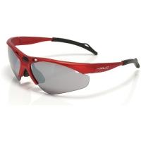 XLC SG C02 Tahiti okulary rowerowe z wymiennymi soczewkami czerwone