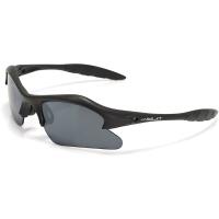 XLC SG C01 Seychellen okulary rowerowe z wymiennymi soczewkami czarne matowe