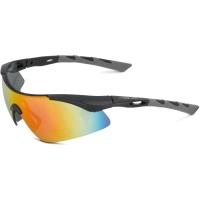 XLC SG C09 Komodo okulary rowerowe czarno szare