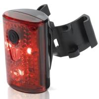 XLC CL R14 Pan lampka rowerowa tylna LED USB