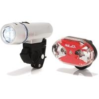 XLC CL S03 Triton + Thebe 5X zestaw lampek rowerowych LED