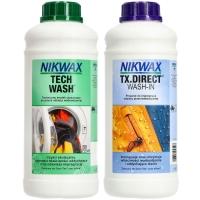 Nikwax Tech Wash + TX Direct Wash In Zestaw pielęgnacyjny do odzieży technicznej