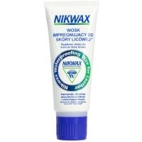 Nikwax Wosk impregnujący do skóry licowej w tubie czarny gąbka 100ml