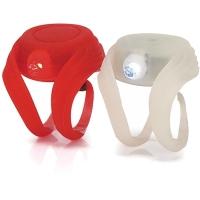 XLC CL S02 Mini Sao zestaw lampek pozycyjnych LED biało czerwony