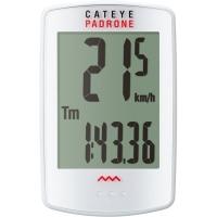 Cateye Padrone CC PA100W Licznik rowerowy wielofunkcyjny biały