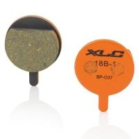 XLC BP O37 Klocki hamulcowe tarczowe żywiczne Clarks