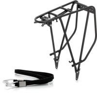 """XLC RP R03 Bagażnik rowerowy tylny 28"""" do sakw Crosso czarny"""