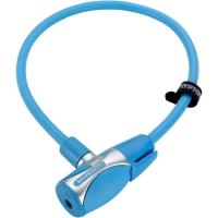 Kryptonite KryptoFlex 1265 KC Zapięcie rowerowe linka klucz niebieskie
