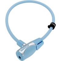 Kryptonite KryptoFlex 1265 KC Zapięcie rowerowe linka klucz jasno niebieskie