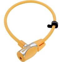 Kryptonite KryptoFlex 1265 KC Zapięcie rowerowe linka klucz żółte