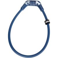 Kryptonite KryptoFlex 1265 CC Zapięcie rowerowe linka szyfr niebieskie