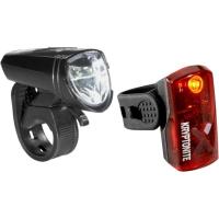 Kryptonite Street F 135 / Avenue R 14 Lampka rowerowa przednia i tylna LED