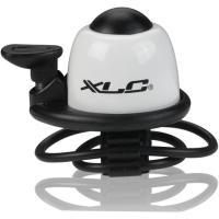 XLC DD M07 dzwonek rowerowy z obejmą opaskową biały