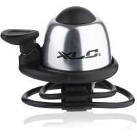 XLC DD M07 dzwonek rowerowy z obejmą opaskową srebrny