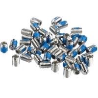 XLC PD X09 Zestaw 52 wymiennych pinów do pedałów platformowych