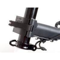 Author ACR 160  Bagażnik rowerowy na sztycę siodełka czarny