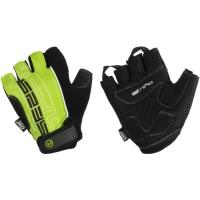 Accent El Nino rękawiczki rowerowe czarno zielone