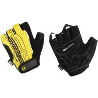 Accent El Nino rękawiczki rowerowe czarno żółte