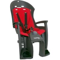 Hamax Siesta Fotelik dziecięcy szaro czerwony + adapter
